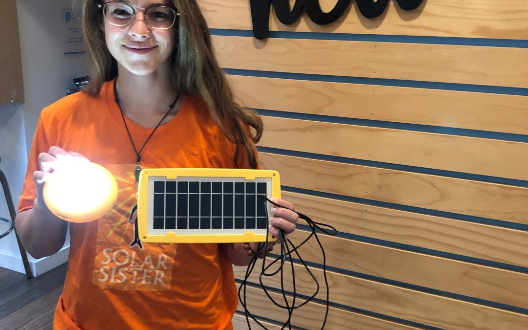 Student Blog: Alicia Oberholzer at Solar Sister