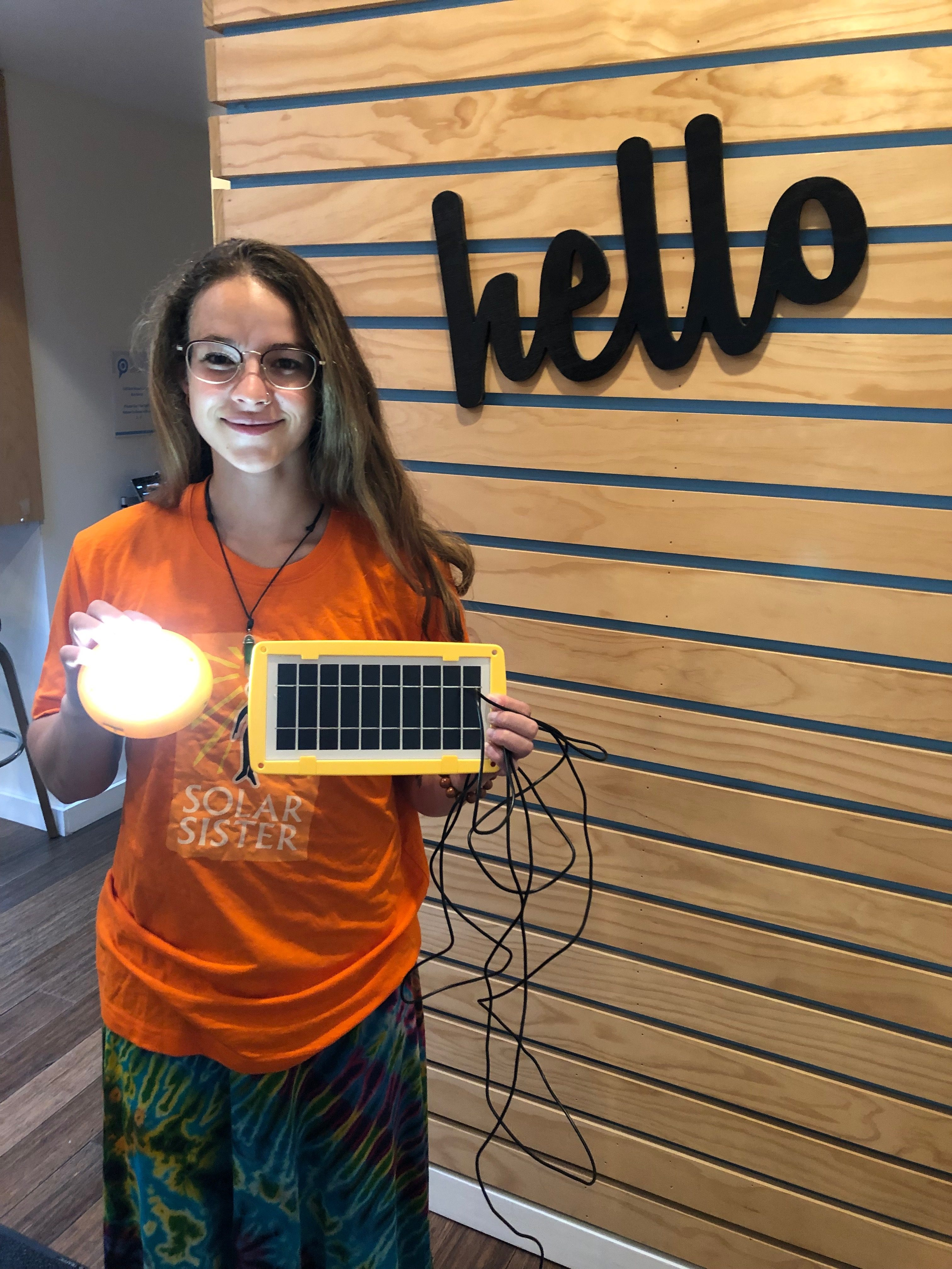 Alicia Oberholzer: Using Storytelling to Share Solar Sister's Impact