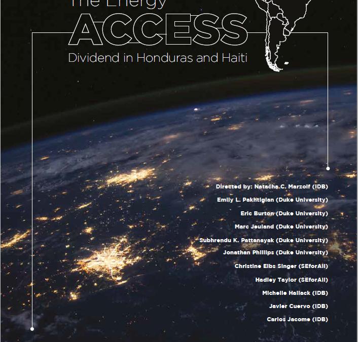 The Energy Access Dividend in Honduras and Haiti