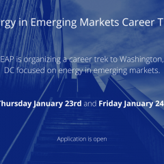 Energy in Emerging Markets Career Trek in Washington, DC