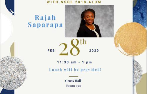 Glean Talk: Rajah Saparapa