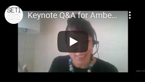 Amber Peterman Q&A