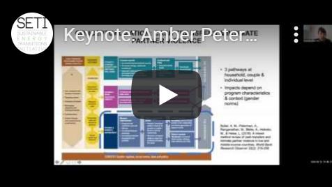 Amber Peterman Keynote