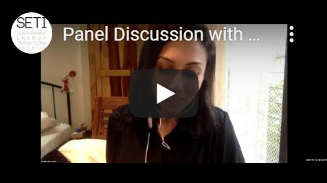 Panel discussion presentation