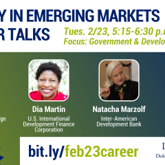 Watch: Energy in Emerging Markets Career Talks