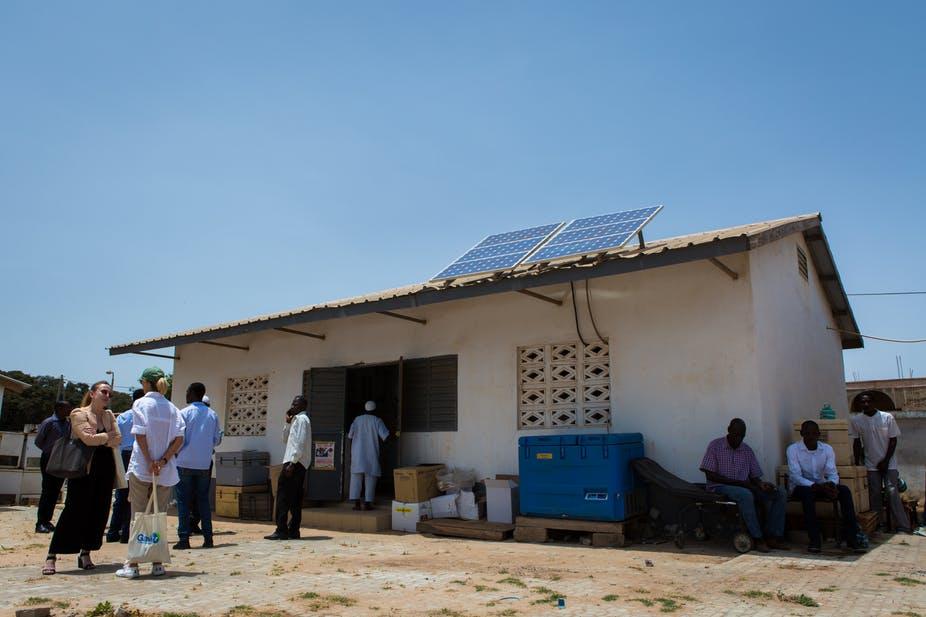Health facility with solar