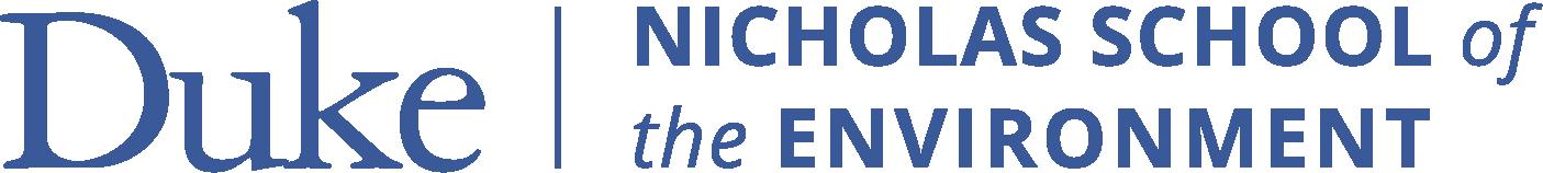 Nicholas School of the Environment Logo